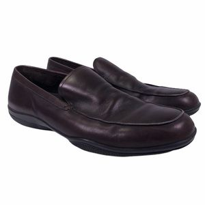 $550 PRADA Milano 1 4D 1645 Leather Casual Loafers